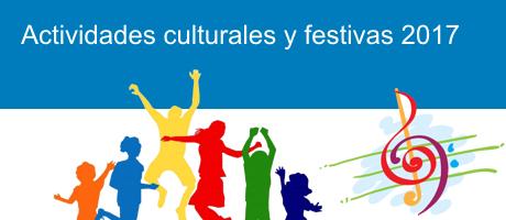 actividades culturas i festivas 2017