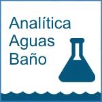 analitica aguas baño