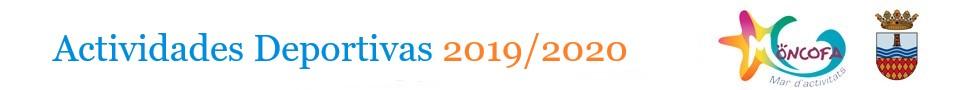 actividades deportivas 2019-2020