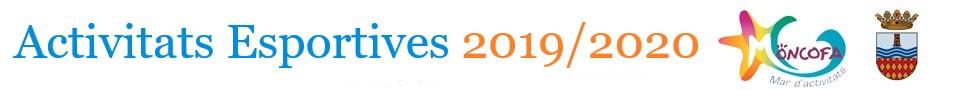 Activitats Esportives 2019-2020