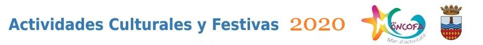 actividades culturas y festivas 2020